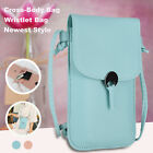 Women Leather Cover Cute Phone Crossbody Purse Pouch Wallet Shoulder Card Case