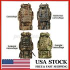 110L Military Tactical Backpack Daypack Bag for Hiking Camping Outdoor Sp