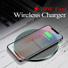 US 15W/10W Charger Qi Wireless Charging Pad Mat For iPhone 11 11Pro Max 8 XS XR