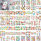 Kids DIY Diamond Painting Sticker Cartoon Animal Cup Phone Decals Decor Toys UK