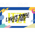 ITZY OFFICIAL LIGHT RING POP-UP STORE MERCHANDISE MD + Tracking Number