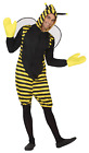 Adults Mens Ladies Buzzy Bumble Bee Minibeast Fancy Dress Costume Outfit XS-XXL