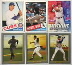 2020 Topps Series 1 INSERT CARD YOU PICK Turkey Red, 1985, Chrome, ETC...