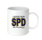 Coffee Cup Travel Mug 11 15 Oz I Suffer From SPD Smart Phone Dependancy Cell