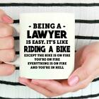Lawyer Mug Being A Lawyer Is Easy Mug Lawyer Gifts Gift Ideas For Lawyer Gift