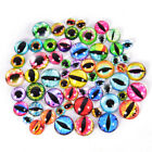20Pcs Glass Doll Eye Making DIY Crafts For Toy Dinosaur Animal Eyes Accessori US