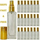 Empty Perfume Glass Bottles 20ml Highest Quality Atomizer Spray Refillable Usa
