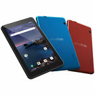 """Smartab  7"""" Android Tablet Quad Core Red, Blue, Black Wifi Bluetooth"""