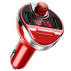 Car V3.0 FM Transmitter Wireless&Bluetooth MP3 Player Radio Adapter USB Charger