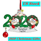 2020 Christmas Ornament Quarantine Mask Toilet Paper XMAS Family Customizable US