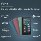 """Fire 7 tablet (7"""" display, 32 GB) - Without Ads, Christmas Gift, Black"""