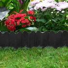 Garden Edging Lawn Grass Plant Border Flower Bed Fence Panel Plastic Wall Path