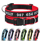 Personalized Pet Dog Collar Embroidered Free Custom Name Phone Number Boy Girl