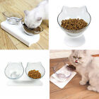 Durable Non-slip Double Bowls with Raised Stand Pet Cat Feeder Food Water Bowl