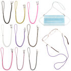 Protect Ears Hanging Glasses Rope Face Mask Lanyards With  Clips Neck Straps