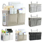 Bedside Caddy Hanging Storage Bag Pocket Bed Holder Couch Container Organizer