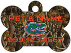 Florida Gators | Realtree Camo Pet Id Dog Tag | Personalized for Your Pet