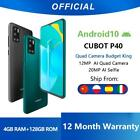 Cubot P40 Rear Quad Camera 20MP Smartphone NFC 4GB+128GB 6.2 Inch