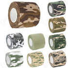 4.5m Stretch Bandage Camo Self Adhesive Cover Paintball Concealment Wrap