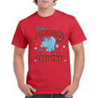 Christmas I want a Hippopotamus T-shirt Red Green Black Limited Edition