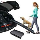 Foldable Dog Pet Ramp For Car SUV Truck Pickup Backseat Stair Step Travel Ladder