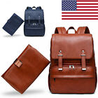 PU Leather Baby Diaper Bag Backpack Large Capacity Maternity Nursing Nappy Tote