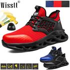 Mens Safety Work Shoes Indestructible Steel Toe Boots Cushion Anti Skid Sneakers