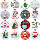 2020 Annual Events Pandemic Christmas Ornament Quarantine Xmas Santa Funny Gift