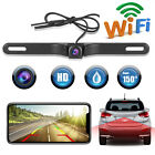 WiFi Wireless License Plate Car Rear View Reverse Backup Camera For Android IOS