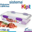 Sistema - Clip It Fresh Seal Container Split - 59.2oz