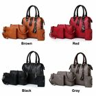 Women' 4pcs Shoulder  Tote Bag Set