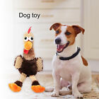 CHICKEN SHAPE PET DOG PUPPY CHEWING TOY SOFT SQUEAKY SOUND PLUSH DOLL WONDROUS