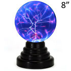 'Large Plasma Ball 8 Magic Plasma Light Globe Static Lamp Touch Sensitive 220v