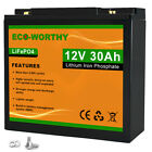 10/20/30AH 12V LiFePO4 Rechargeable Lithium Iron Phosphate Battery for RV Boat