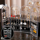 Earrings Stud Necklace Jewelry Display Rack Stand Organizer Storage Holder Case