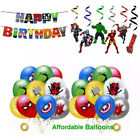 Avengers birthday party latex balloons. Avengers party decorations supplies new