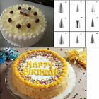 Flowers Icing Stainless Steel Icing Piping Nozzle Cake Decorating Tool Leaves
