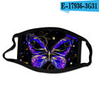 2-pcs masks High quality butterfly printed fashion nice washable halloween mask