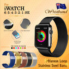Milanese Loop Strap For Apple Watch All Series Iwatch Stainless Steel Wrist Band