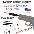 0.22 to 0.50 Caliber Hunting Laser Sighter Bore Sight Boresighter Fits Most Guns