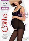 Conte TIGHTS MOMMY 40 DEN - Silky Touch Support panties Maternity PANTYHOSE