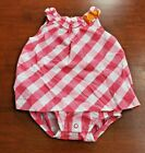 Baby girl skirted bodysuits, Carter's, assorted prints & sizes