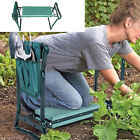 2-in-1 Foldable Garden Kneeler And Seat Garden Bench Stool with Tool Pouch
