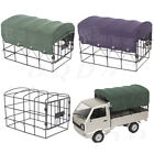 Canvas Rc Car Truck Hood Cover Metal Cage For 1/10 Wpl D12 Truck Vehicle Parts