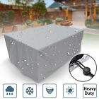 Heavy Duty Waterproof Outdoor Furniture Cover Yard Uv Garden Table Chair Shelter