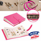 Gift Case Necklace Storage Book Holder Earring Creative Jewelry Box Organizer