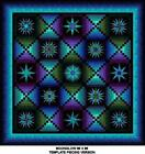 Moonglow Quilt Kits 86x86 Template Pieced