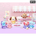 BTS BT21 Official Goods Baby Cotton Candy Standing Doll + Tracking Number