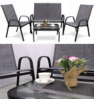 A Set Of Garden Furniture - Sofa + Table + Chairs