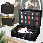 Barber Stylist Suitcase Carrying Case For Clippers Trimmers Scissors  Organizer